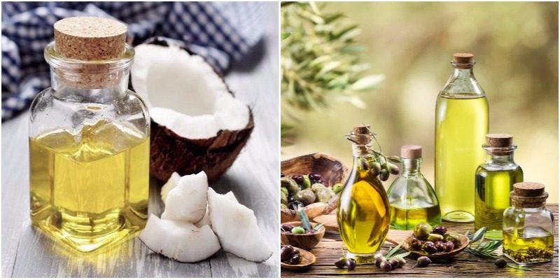 Tự làm kem dưỡng trắng da mặt bằng dầu dừa và dầu oliu