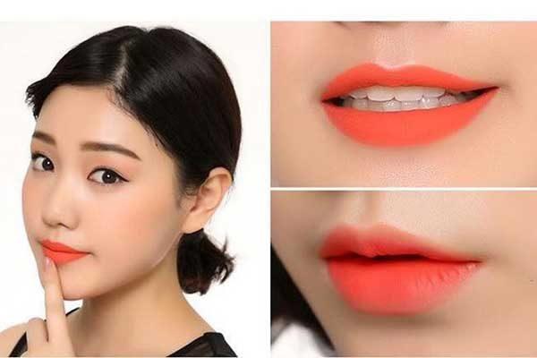 Son môi cam tươi