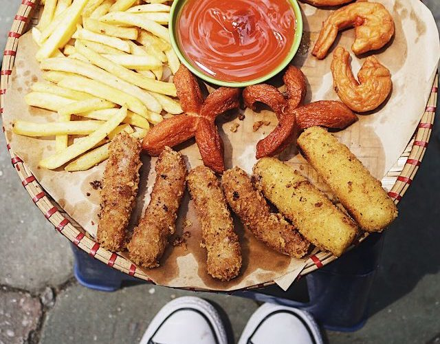 Không ăn đồ ăn nhanh