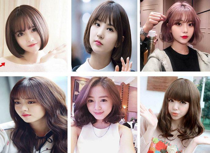 Những kiểu tóc đẹp cho nữ