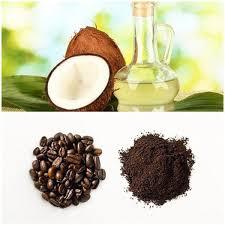 Mặt nạ cafe với dầu dừa